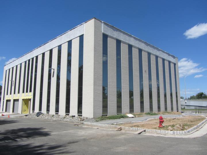 New Exterior Facade