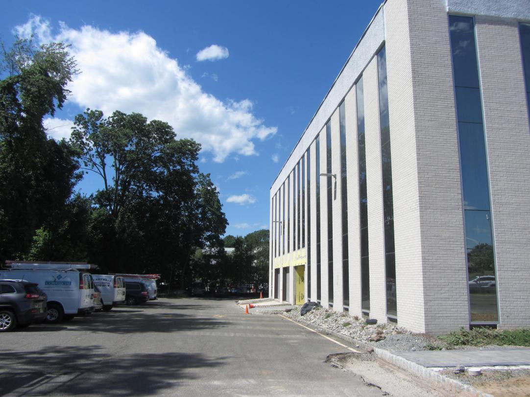 New Building Facade